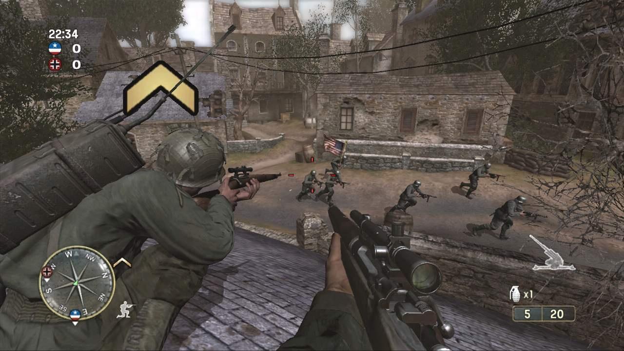 Скачать игру на компьютер call of duty