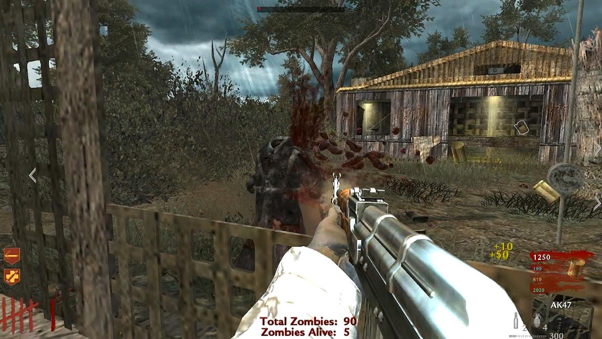 how to play split screen nazi zombies ww2