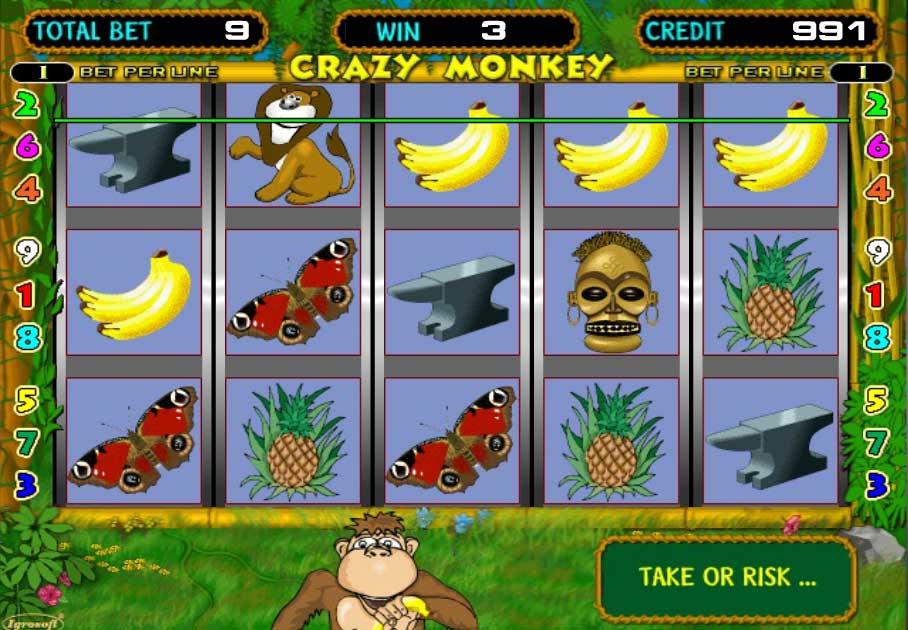 Азартные игры crazy monkey