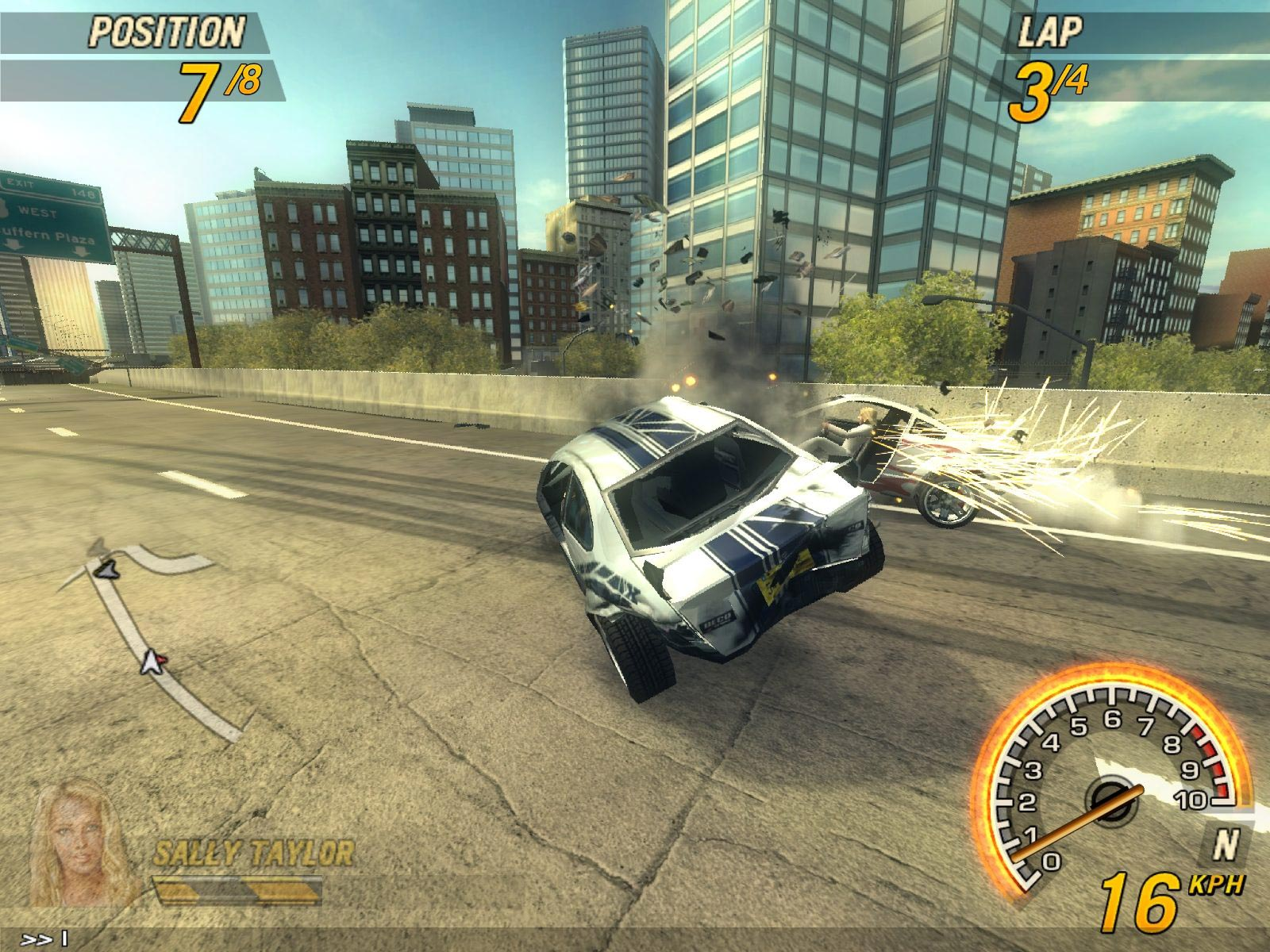 из фото игры flatout машин