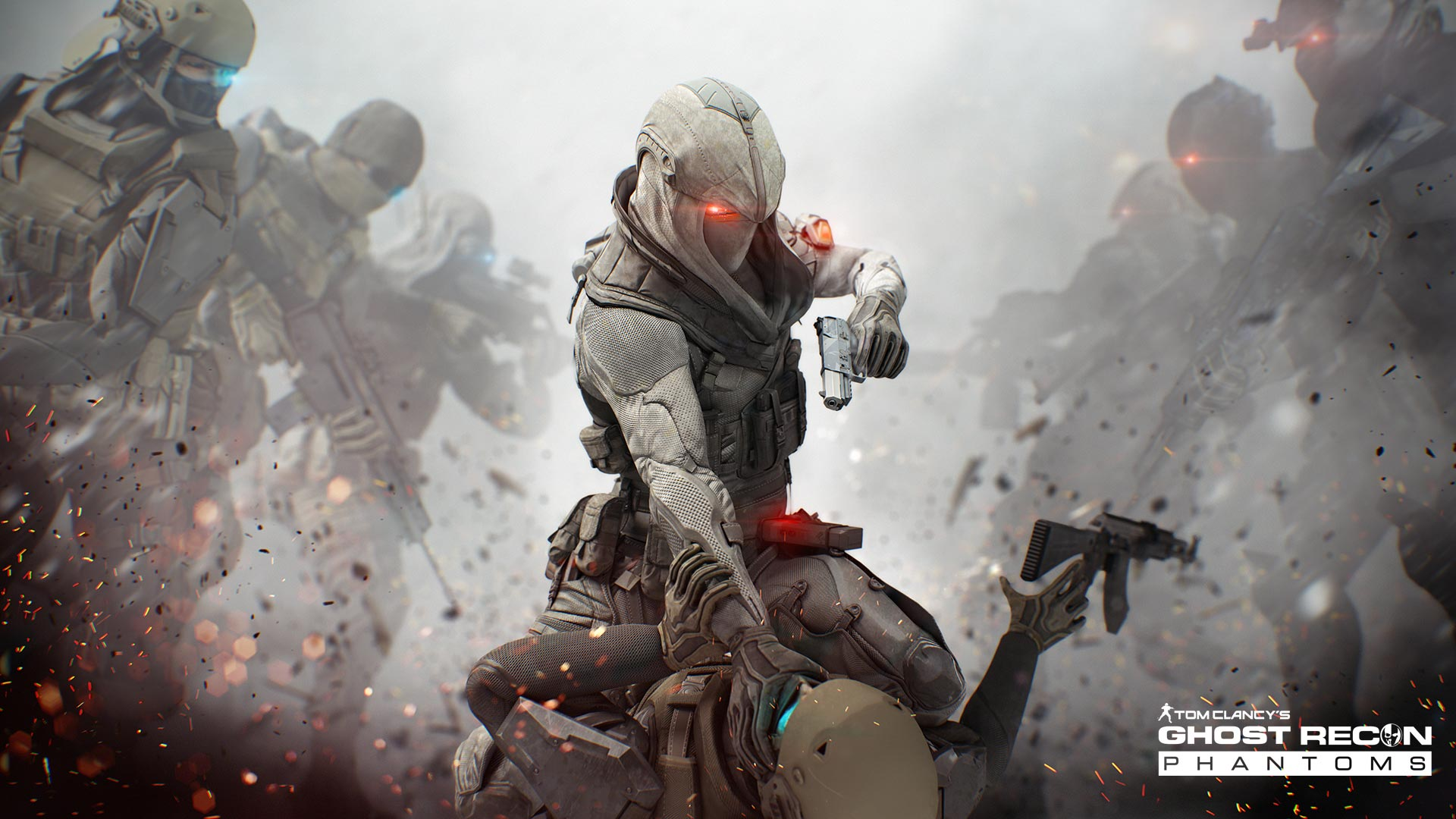 Snipers in Tom Clancys Ghost Recon Future Soldier
