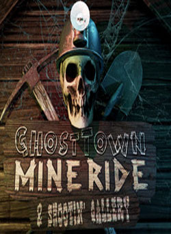 Ghost Town Mine Ride Shootin Gallery