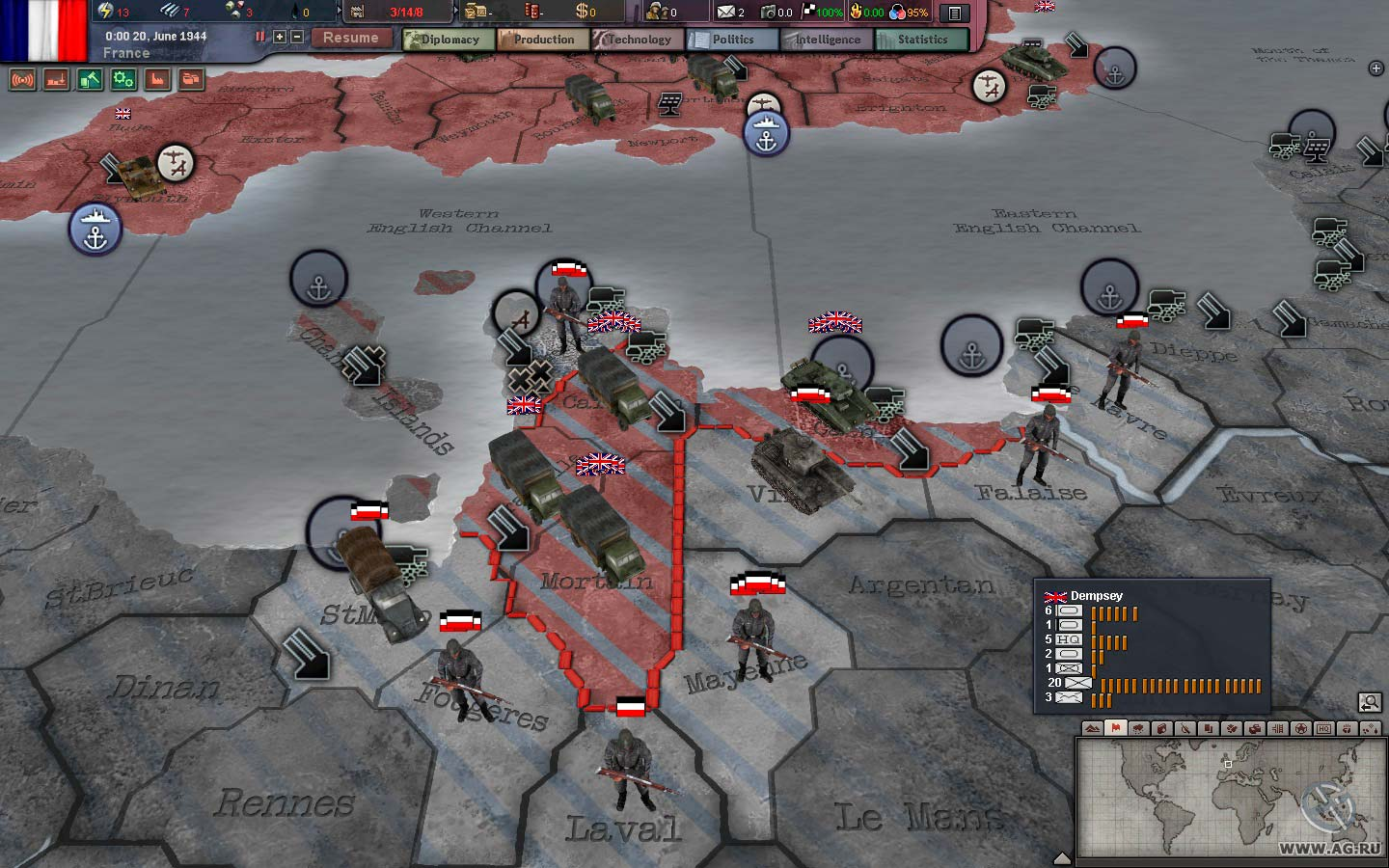 Hearts Of iron 3 Game Manual download