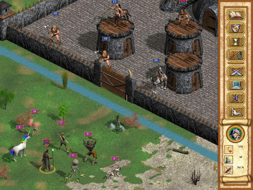 скачать игру Heroes Of Might And Magic 4 через торрент на русском - фото 10