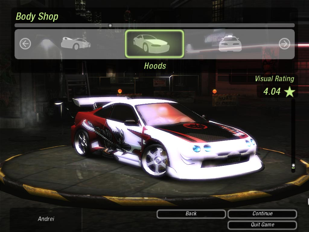 Need For Speed Underground  All Cars Cheat