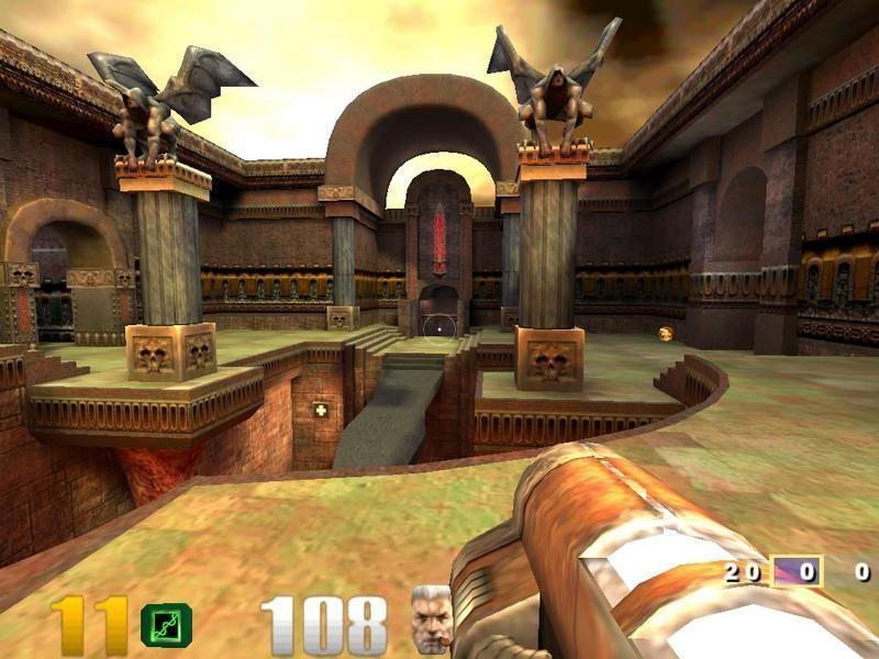 скачать игру Quake Arena 3 - фото 10