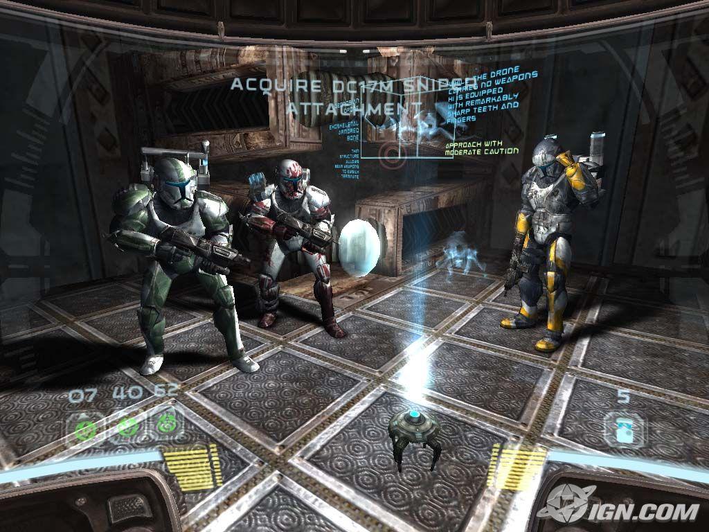 скачать игру звездные войны Republic Commando через торрент - фото 2