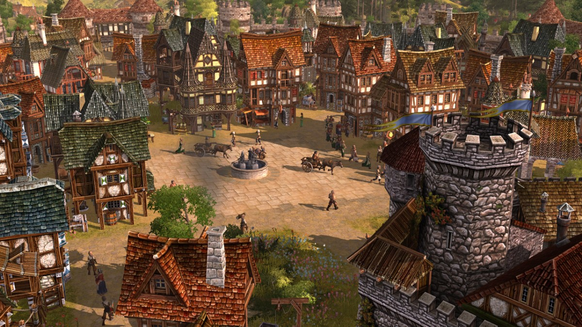The Settlers Rise Of An Empire Buildings