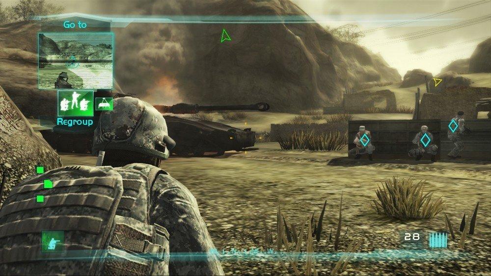 скачать игру Tom Clancy S Ghost Recon Advanced Warfighter 2 - фото 3